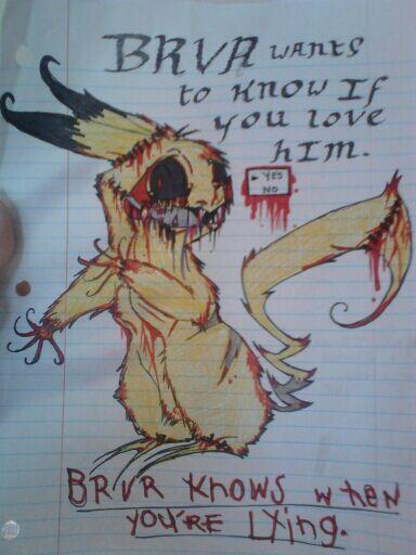 Pokemon Dead Channel--Really Old Fanart! by DisposedNevada0