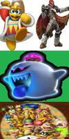 Super Smash Bros Elementals Bosses