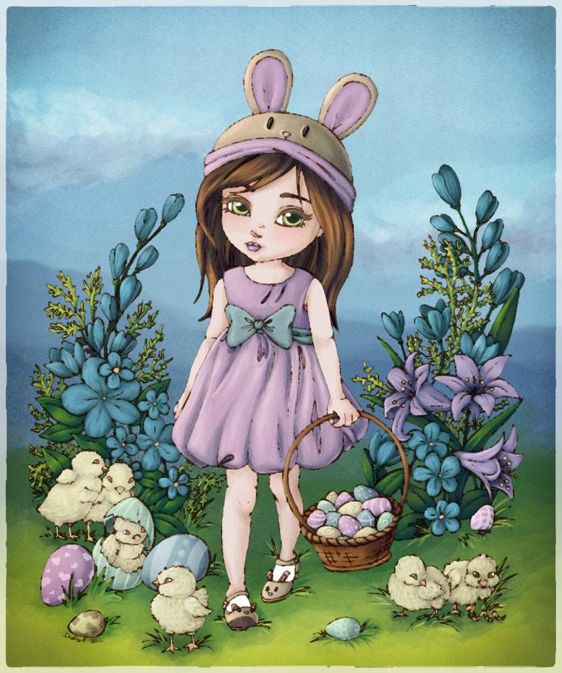 Easter Chicks by fer-V
