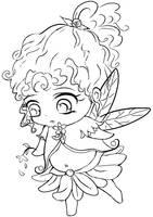 Scribbled fairy by fer-V