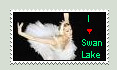 I heart Swan Lake Stamp by actually-im-a-raisin