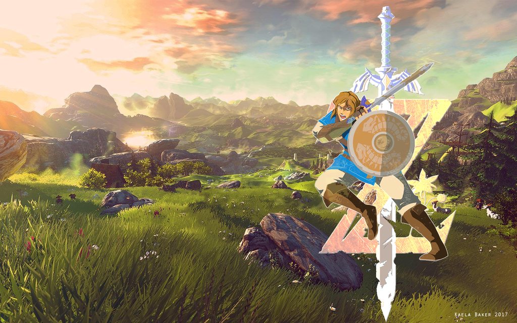 Breath Of The Wild Desktop Wallpaper: Legend Of Zelda: Breath Of The Wild Wallpaper By