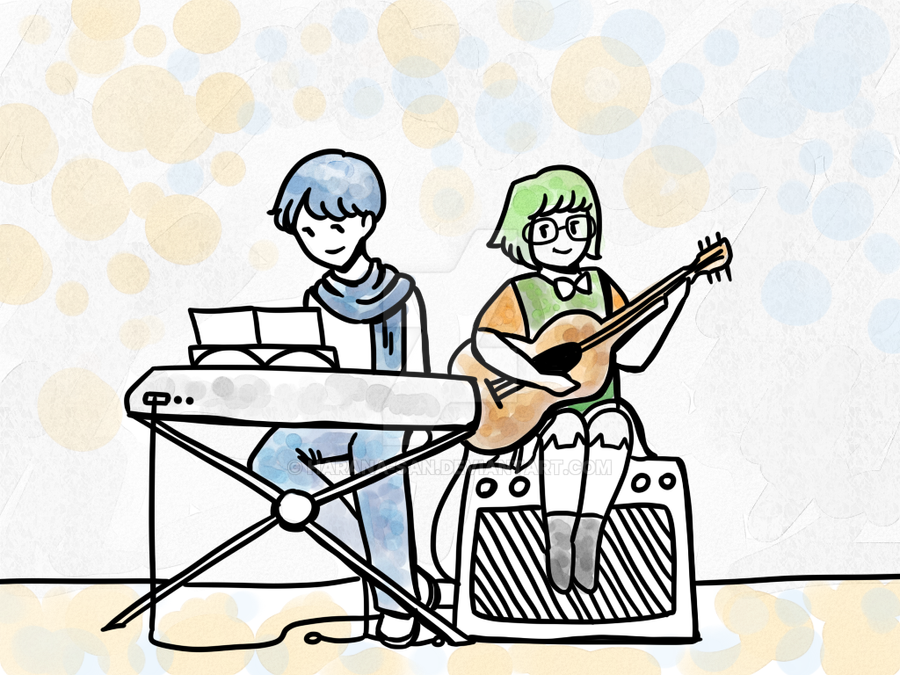 A Guitar and Piano Duet by Harana-san