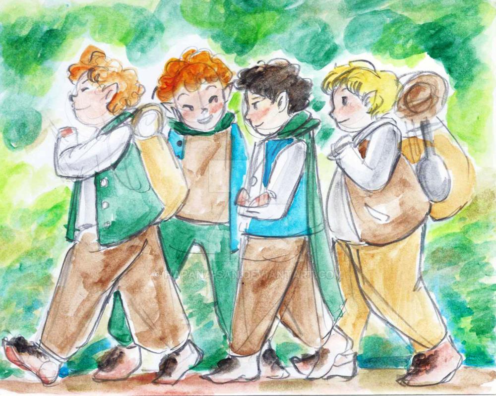 Hobbitsies by Harana-san