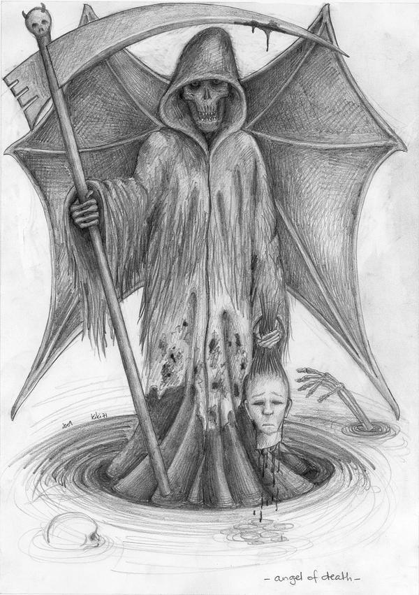 Angel of death by kiki71