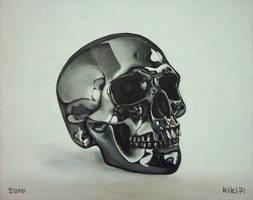 Chrome Skull by kiki71
