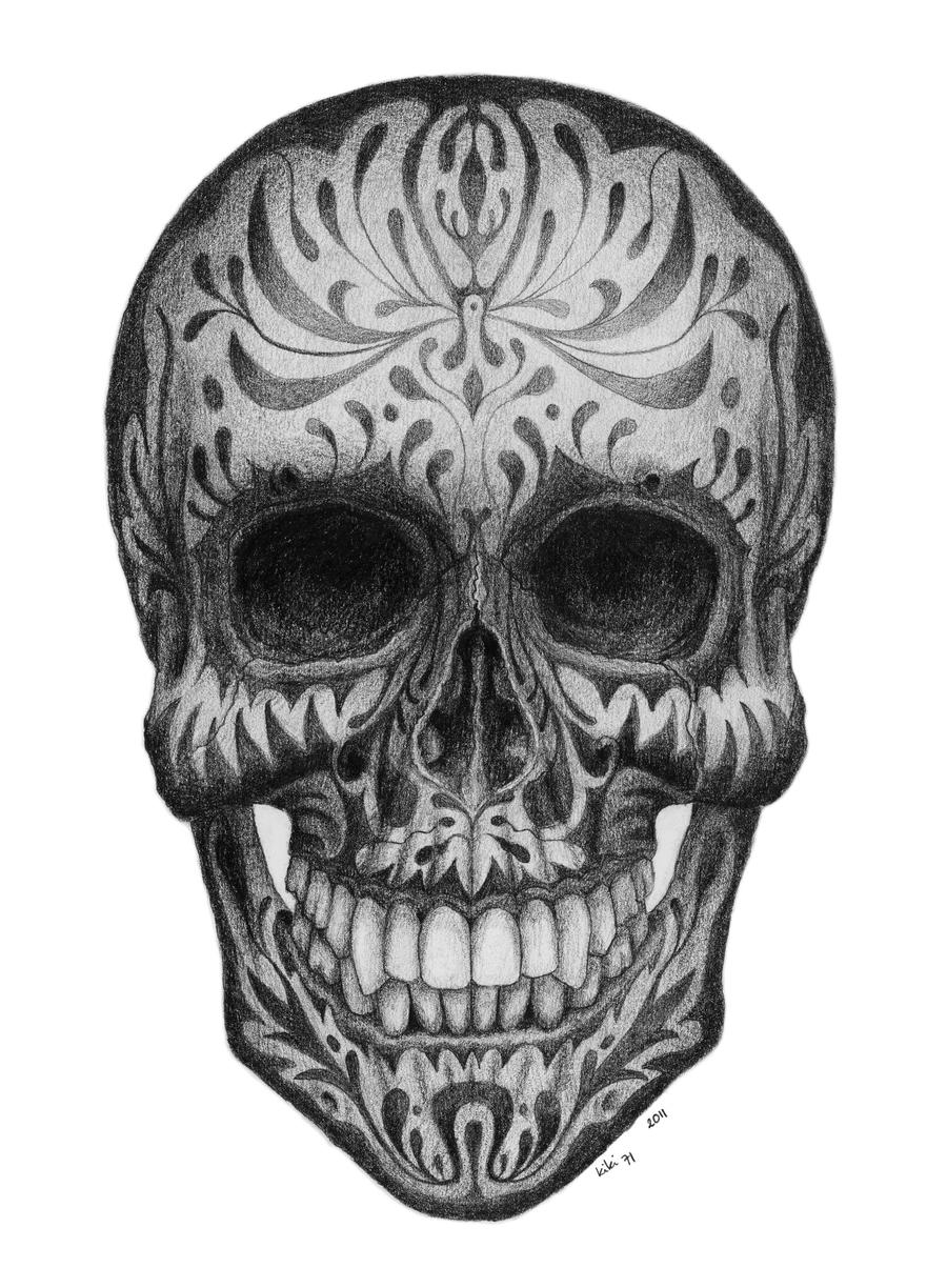 Real Sugar Skull 1 by kiki71