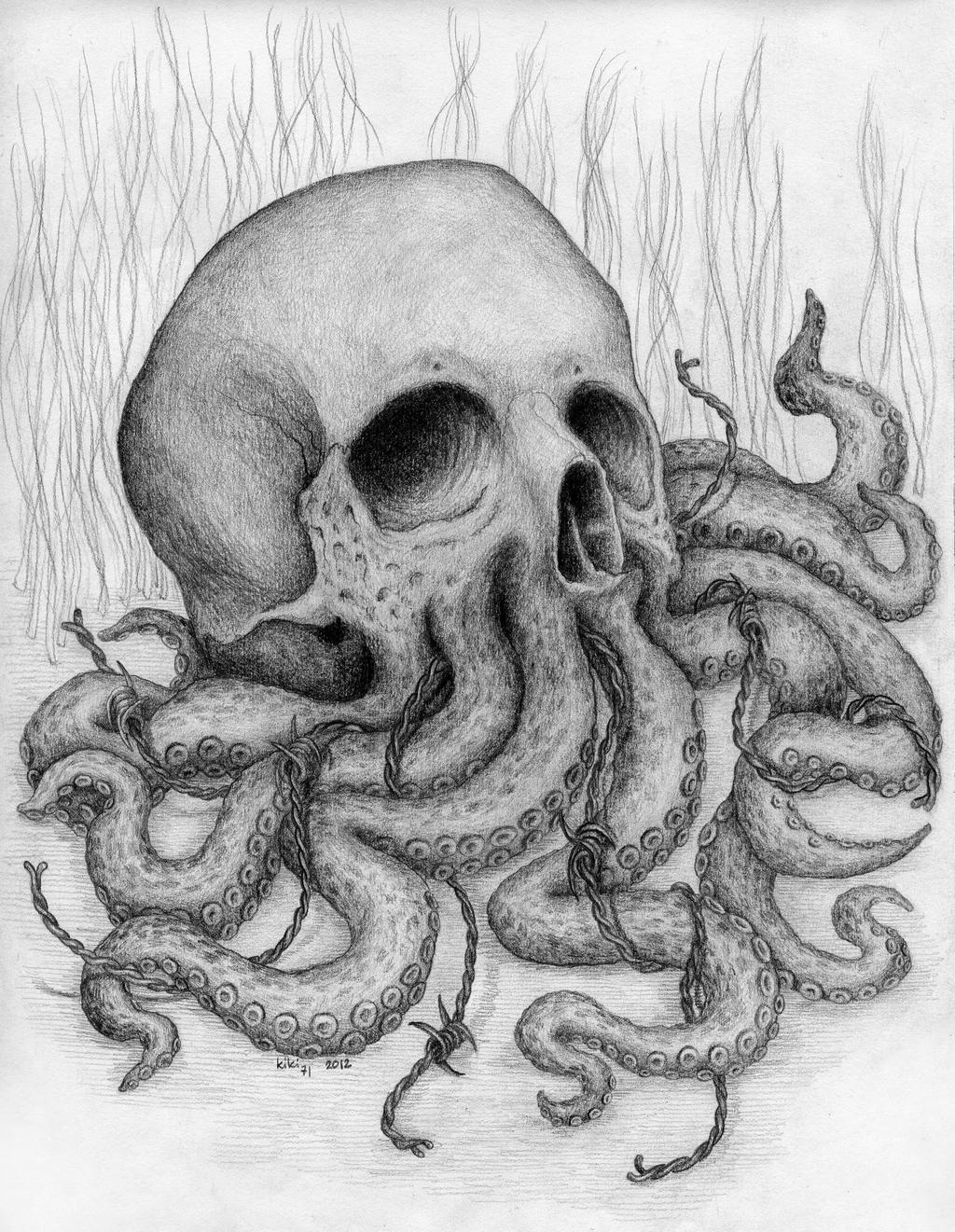 Cthulhu Skull by kiki71