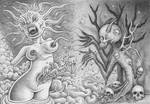 Birth of death - collab with Offermoord by kiki71