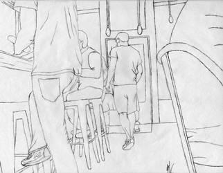 Interior Perspective - Rough Draft