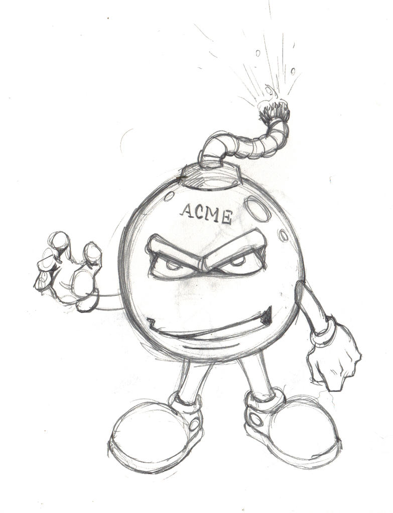 A Bomb Drawing Acme Bomb by JREAGANA ...