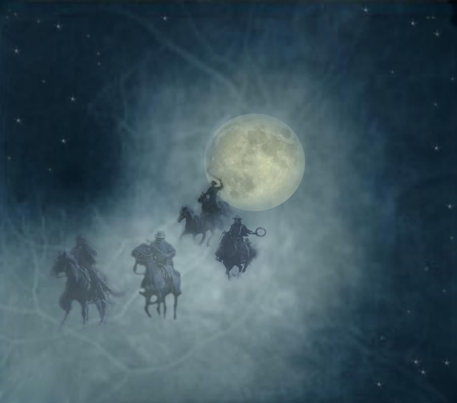 ghost riders in the sky by nedesem on DeviantArt | Weird ...