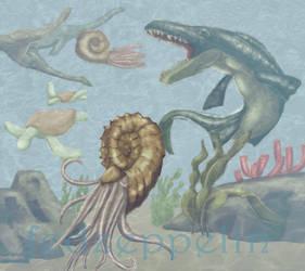 Prehistoric ocean by fedzeppelin