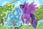 :C: Trixie and Twilight Sparkle