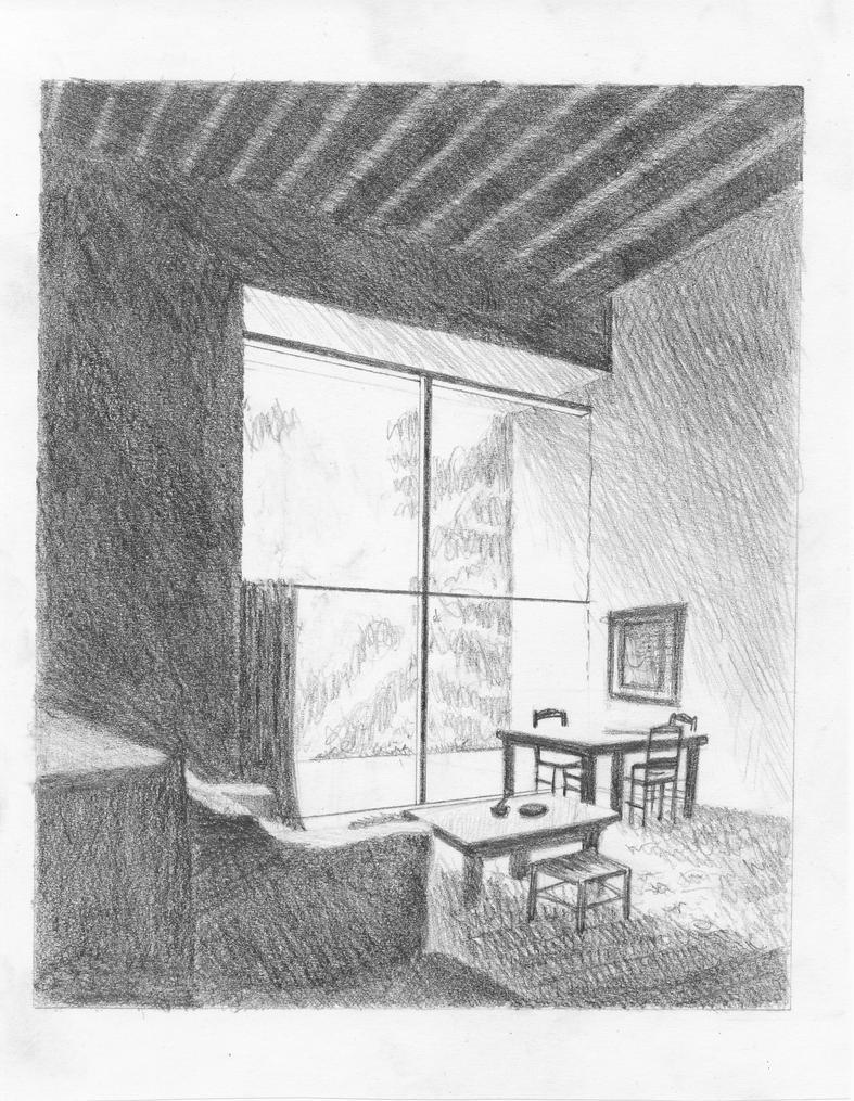Room Sketch By Adonabauer On Deviantart
