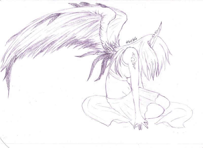 Sketch By NightElfPriestess On DeviantArt
