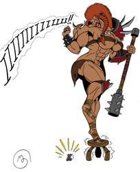 Shy Barbarian