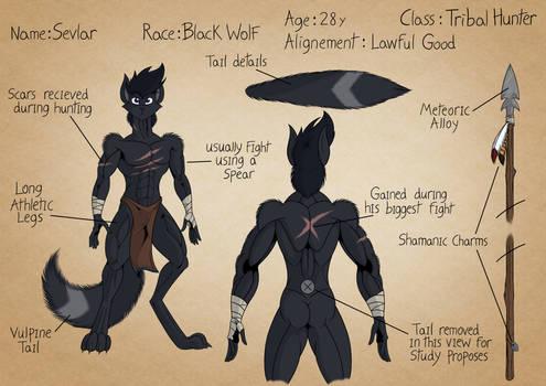 Character Sheet: Selvar