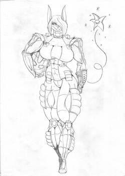 Lilith in Demonica Suit