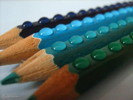 Blue Lego Colors