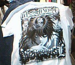 DeathNote T-Shirt by ShiningShadow2007