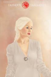 Game of Thrones - Daenerys Targaryen / Fanart by Pincons