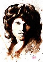 Jim Morrison by lloyd-art