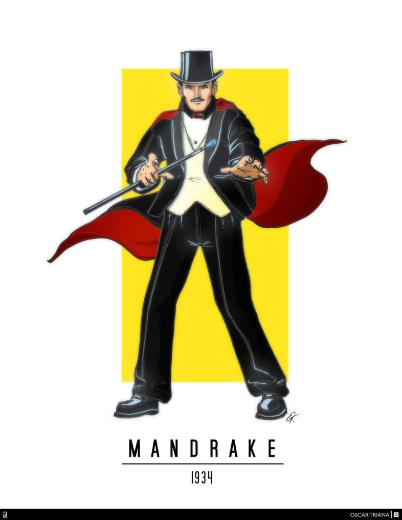 Mandrake The Magician (1934) by elfantasmo