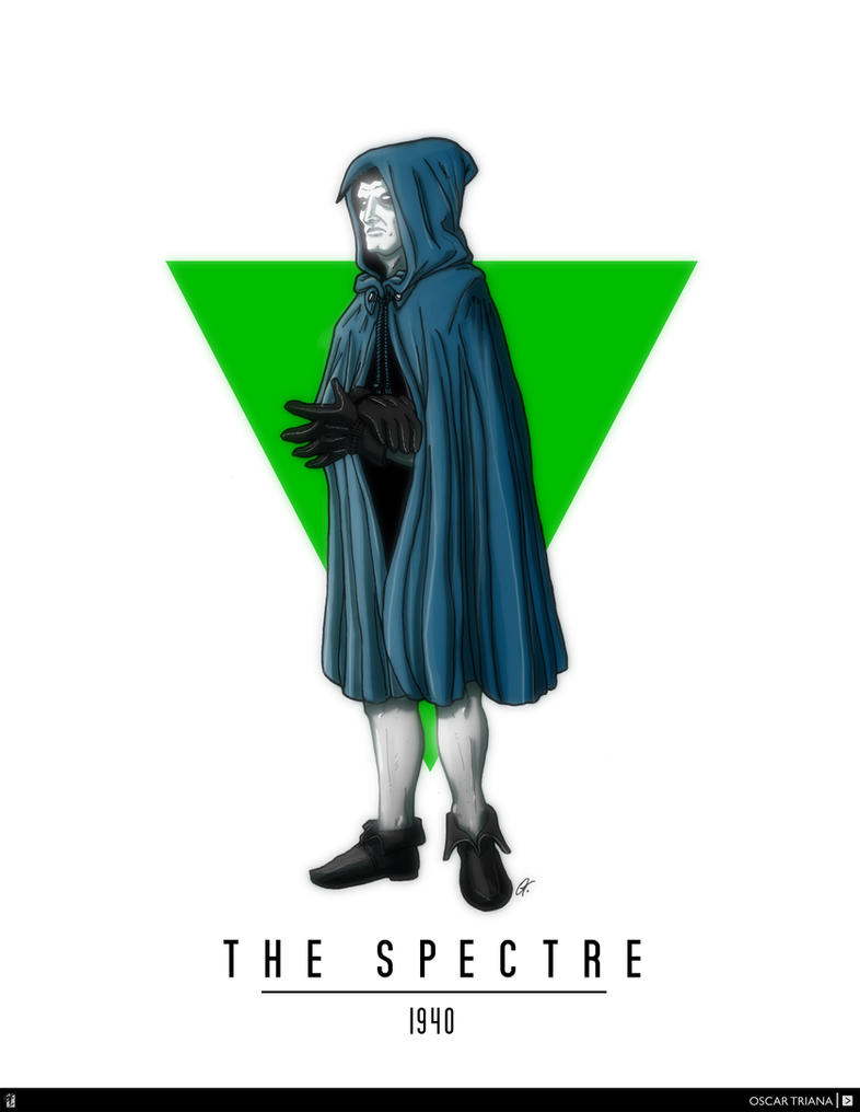 The Spectre (1940) - First Appearance by elfantasmo