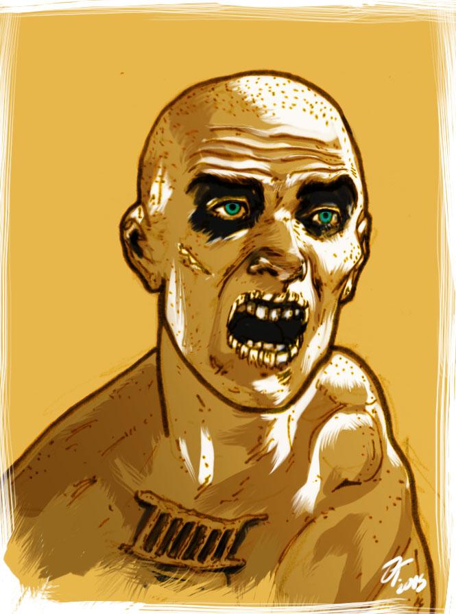 Mad Max - (Sketch) by elfantasmo
