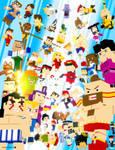 Street Fighter - 3D Pixel Art