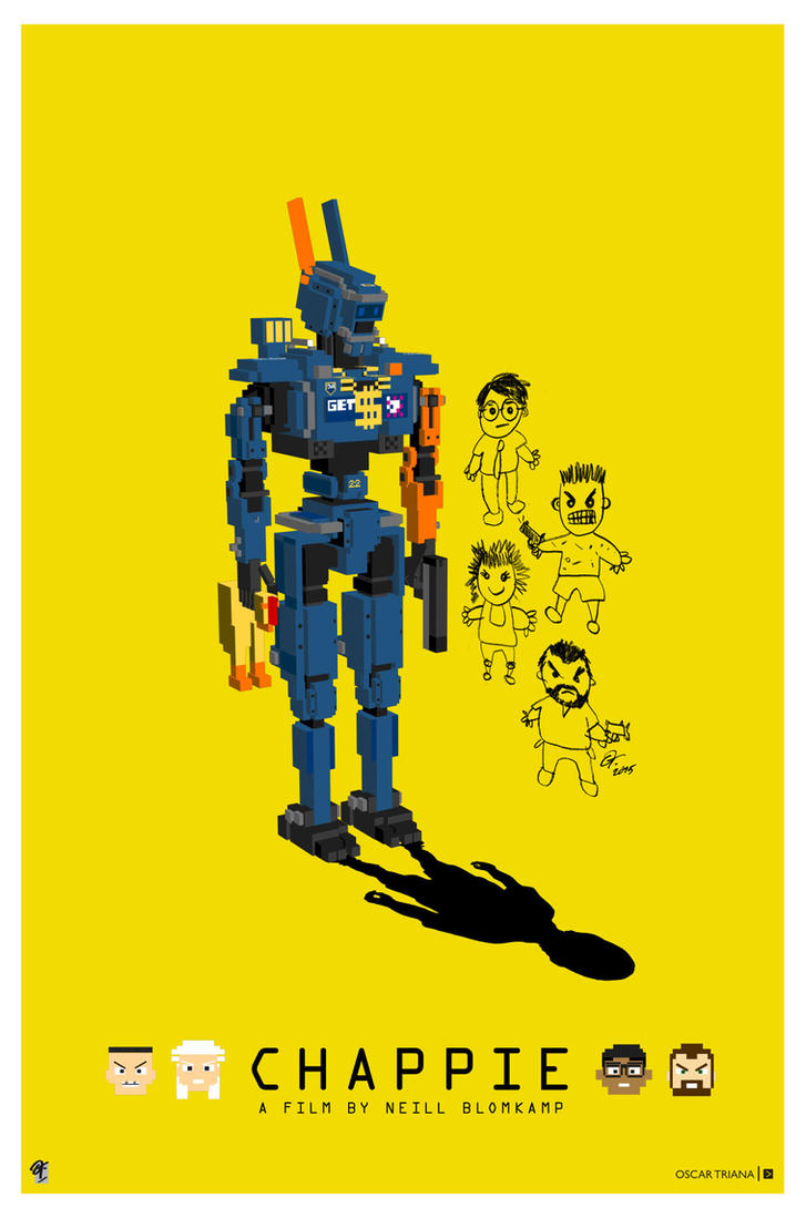 Chappie Poster - Y by elfantasmo