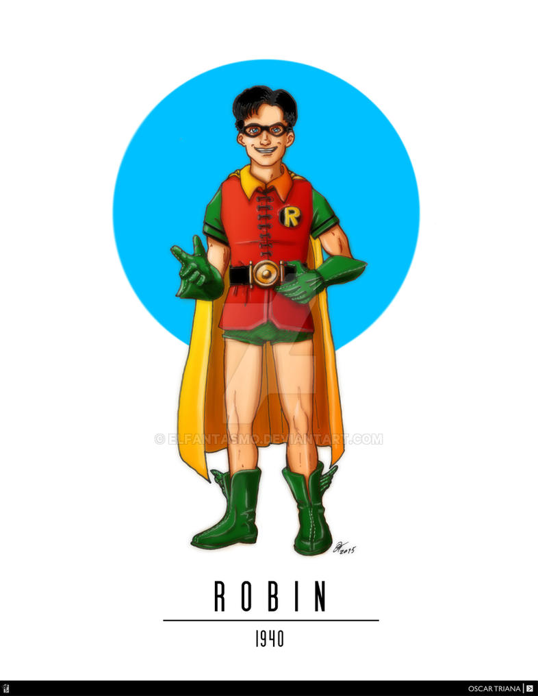 Robin - First Appearance (1940) by elfantasmo