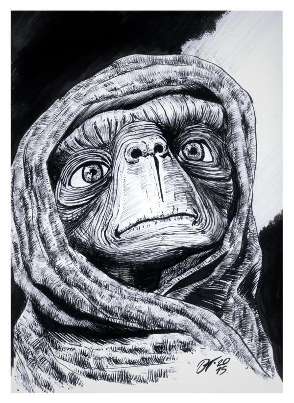 ET #reto1draw by elfantasmo