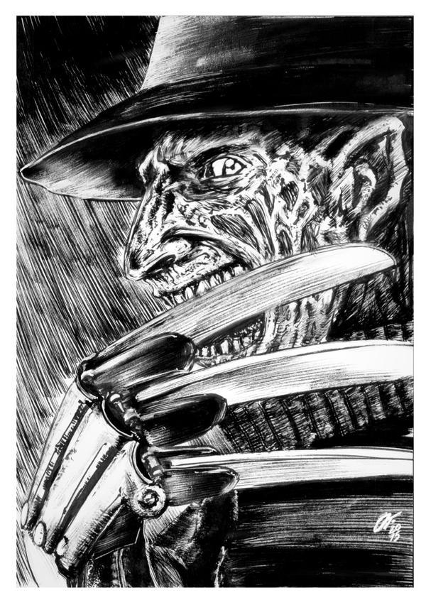 Freddy Krueger #reto1draw by elfantasmo