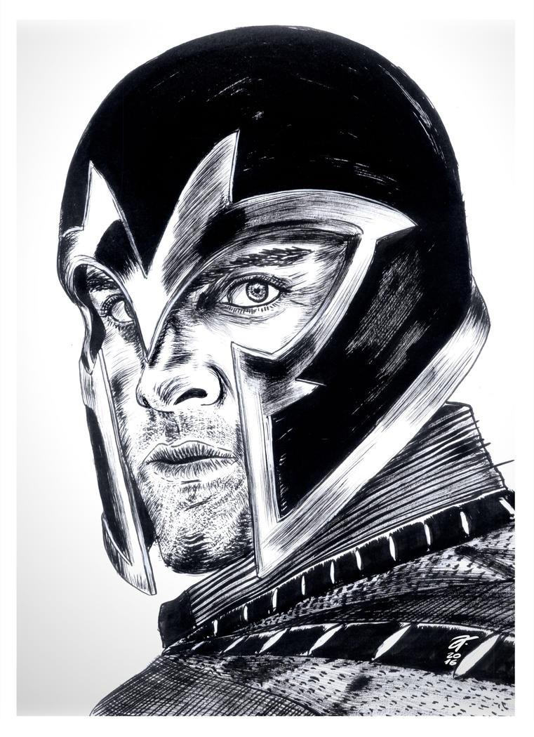 Magneto #reto1draw by elfantasmo