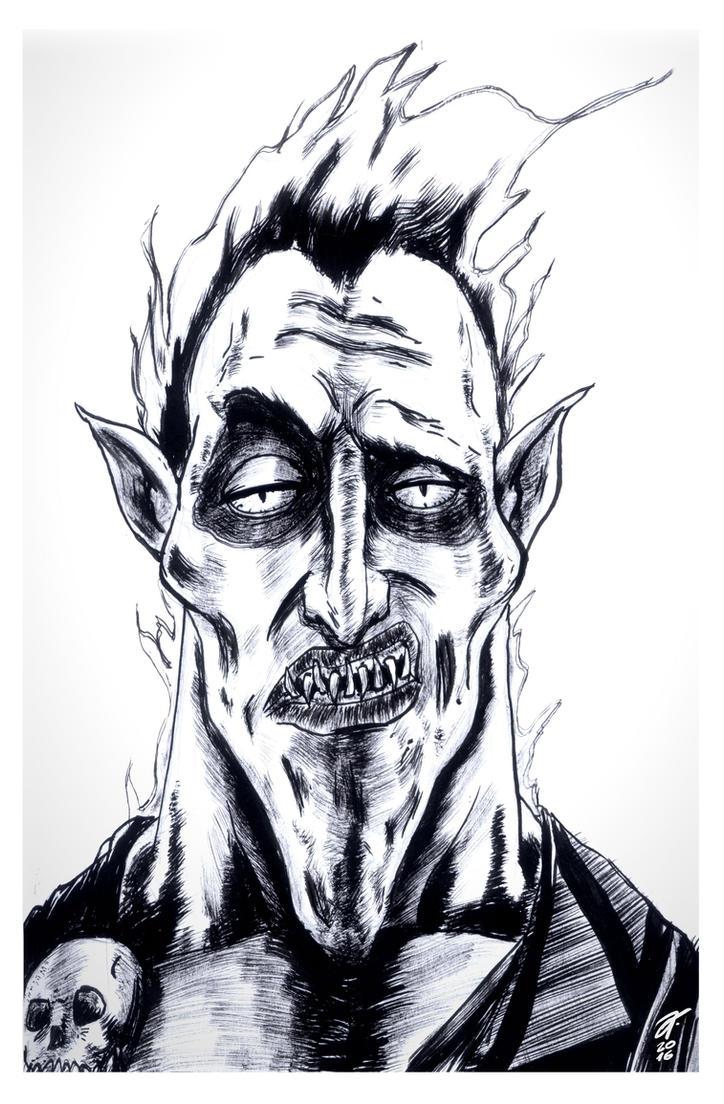 Hades #reto1draw by elfantasmo