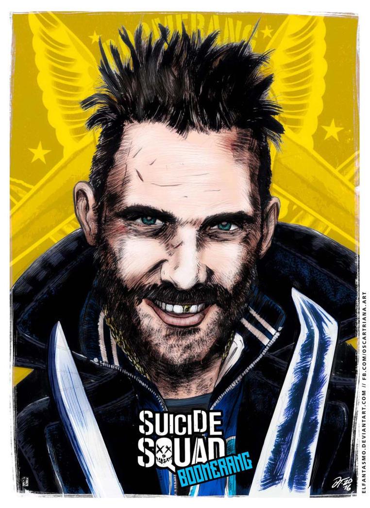 Boomerang - Suicide Squad Poster by elfantasmo