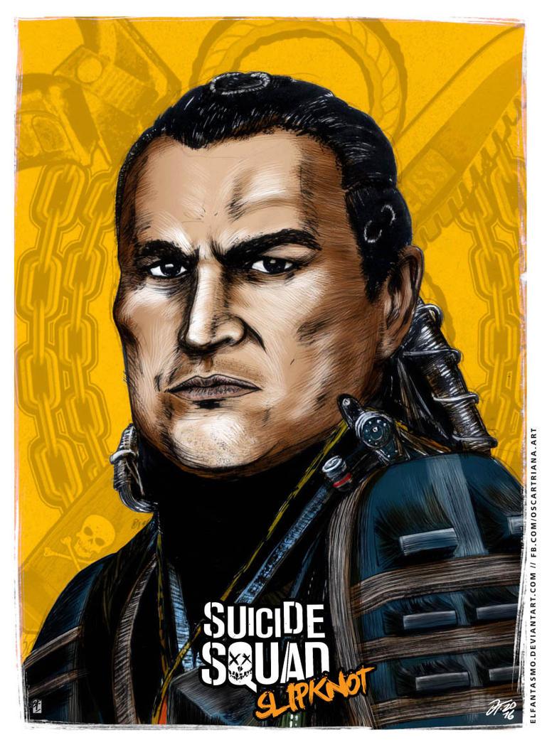 Slipknot - Suicide Squad Poster by elfantasmo