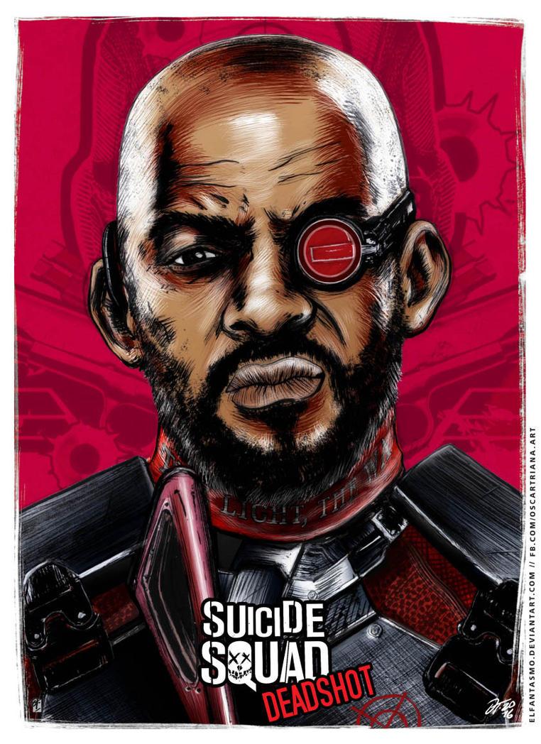 Deadshot - Suicide Squad Poster by elfantasmo