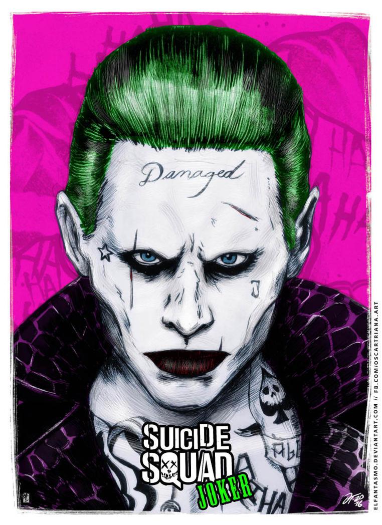 Joker - Suicide Squad Poster by elfantasmo