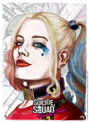 Harley Quinn - Suicide Squad Poster by elfantasmo