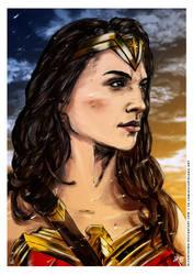 Wonder Woman by elfantasmo