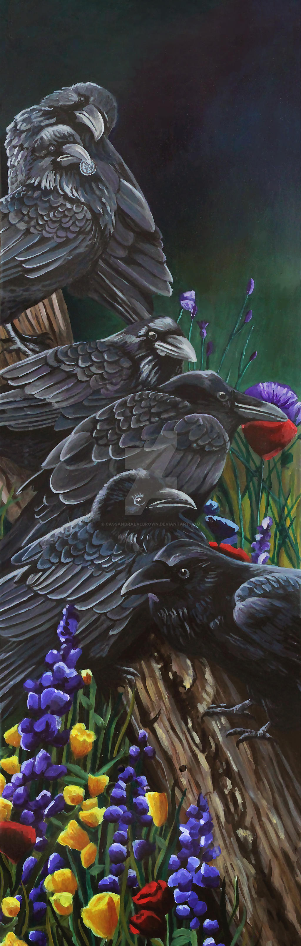 636389fc9f5 Unkindness of Ravens by CassandraEveBrown Unkindness of Ravens by  CassandraEveBrown