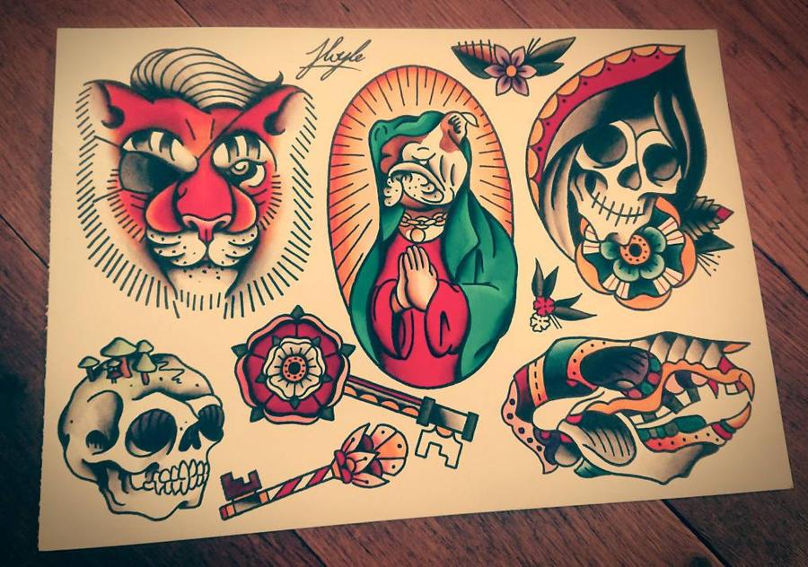 Random sheet  by HoylierThanThou