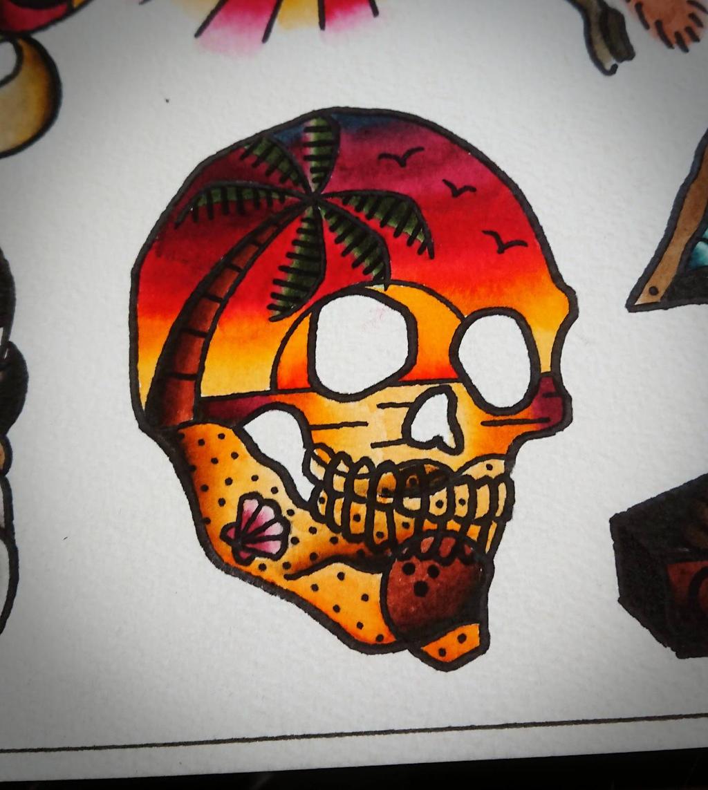 Skull Island   by HoylierThanThou
