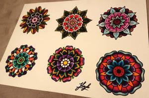Mandala sheet  by HoylierThanThou