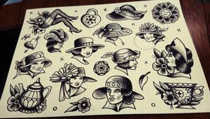 Vintage sheet by HoylierThanThou