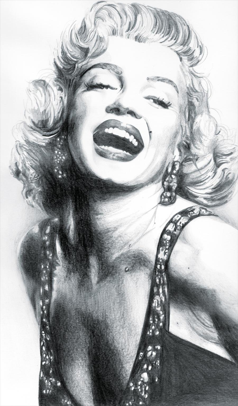 Marilyn Monroe by Todaviia