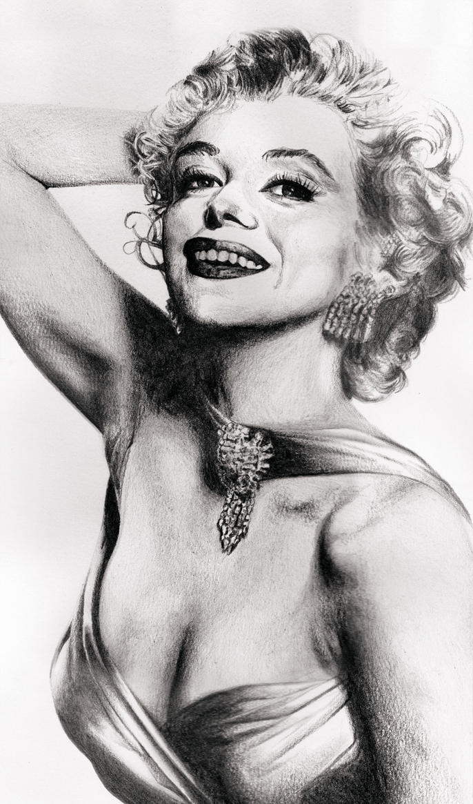 Marilyn Monroe by Todaviia